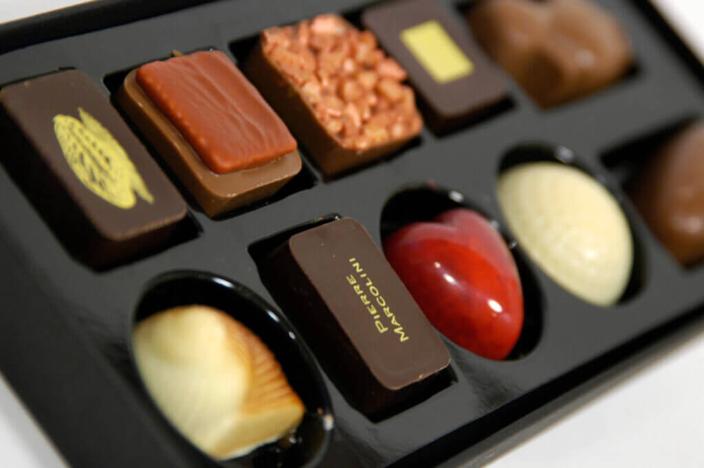 Luxury chocolates by Pierre Marcolin