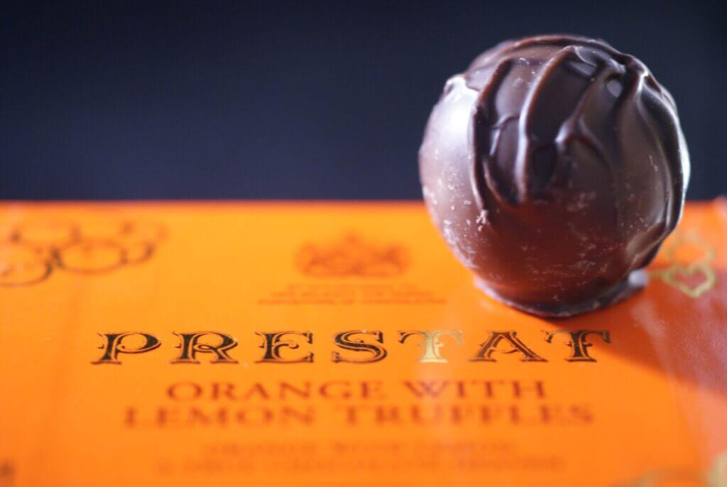 Prestat is a European chocolate brand from London