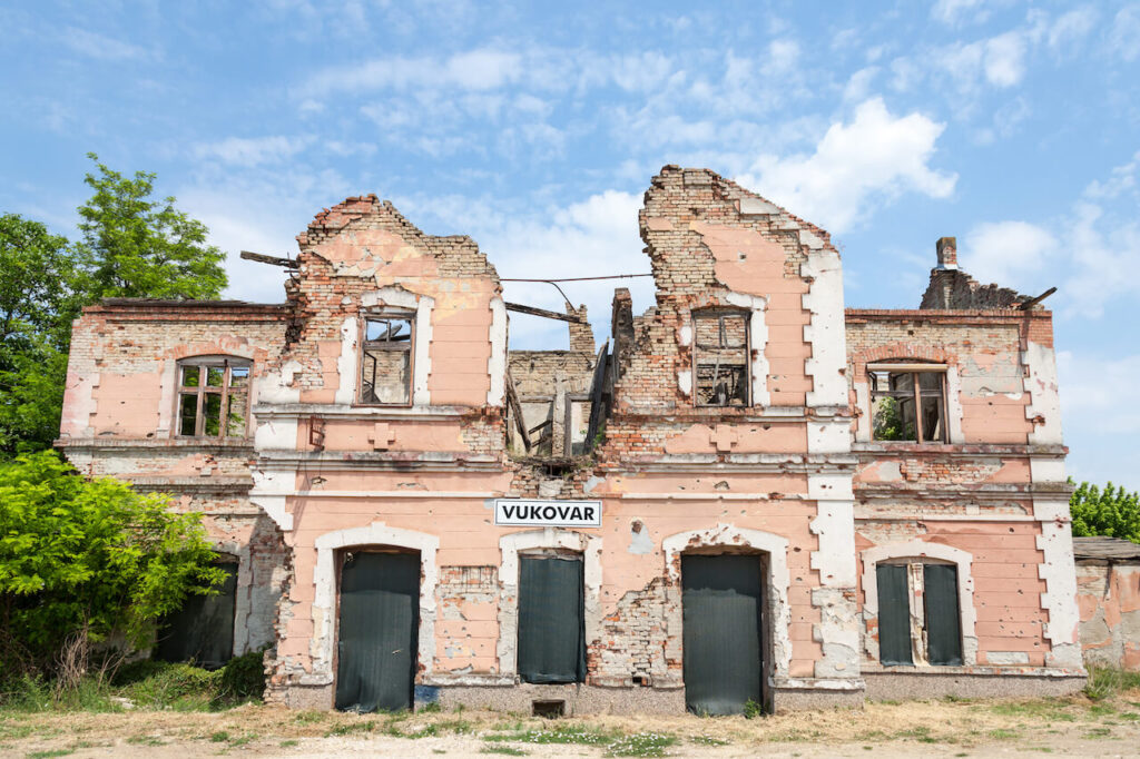 Vukovar train station