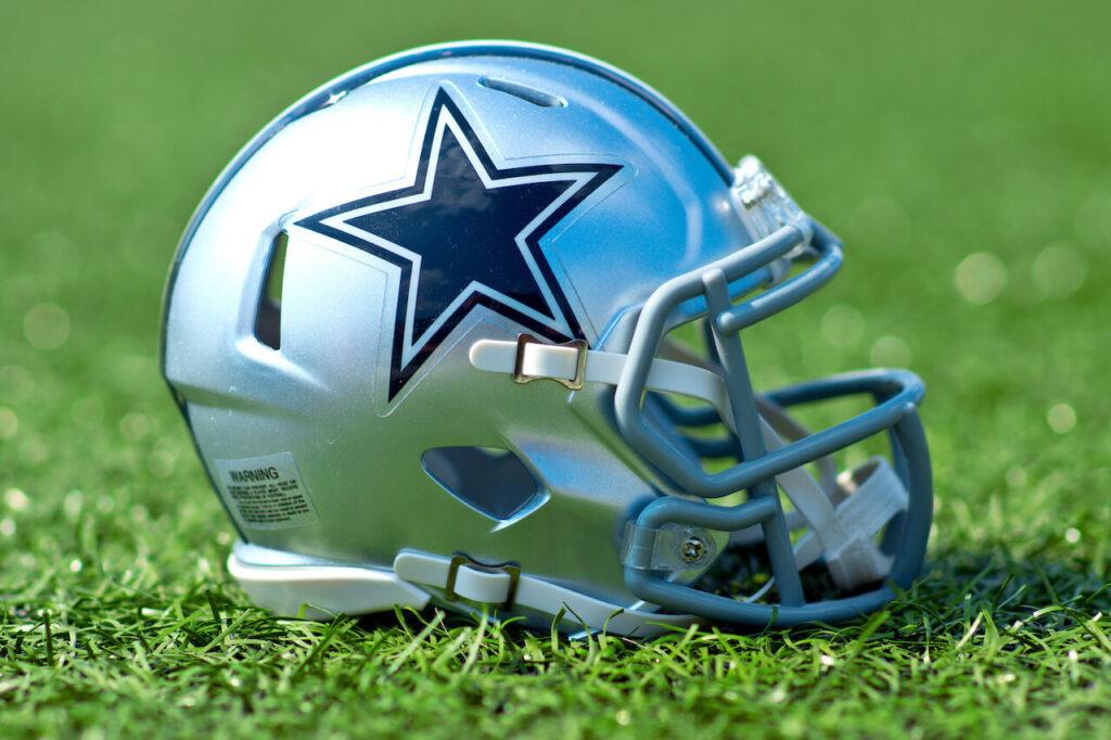 Dallas Cowboys helmet