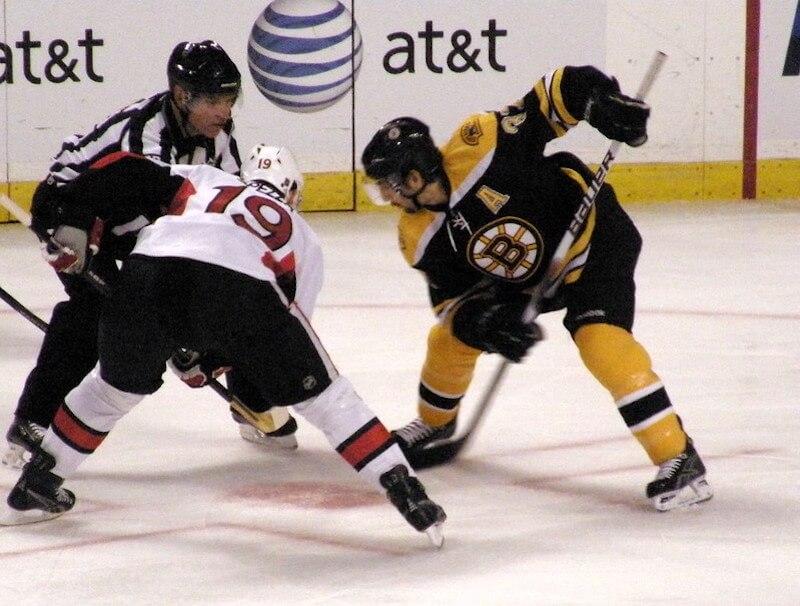 Ice hockey match