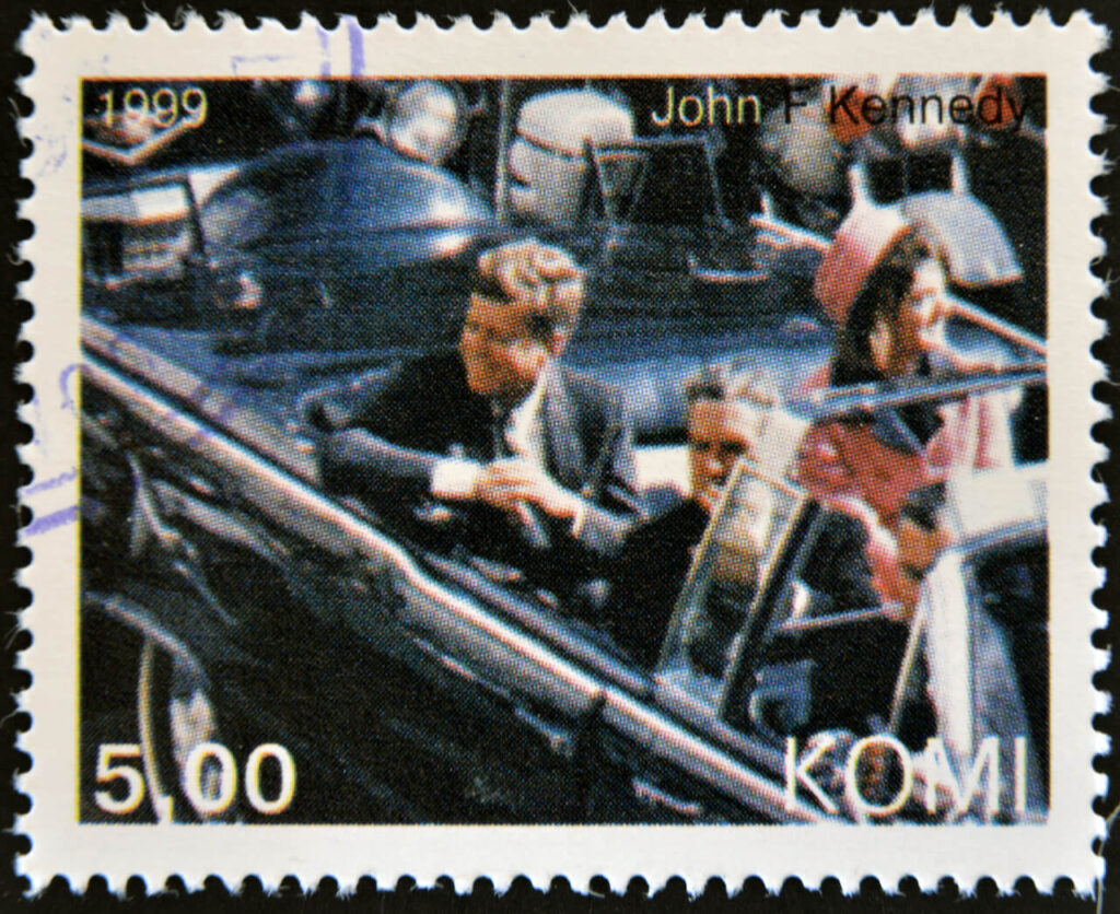 JFK Stamp