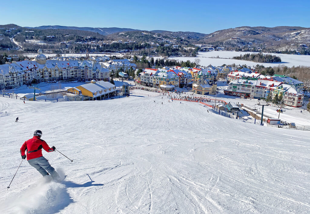 Skiing in Mont Tremblant