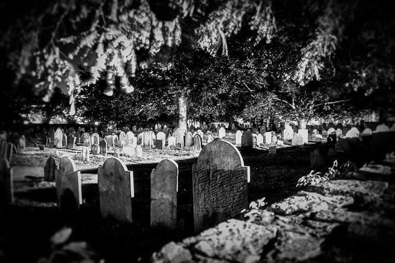 Salem witch trial cemetery