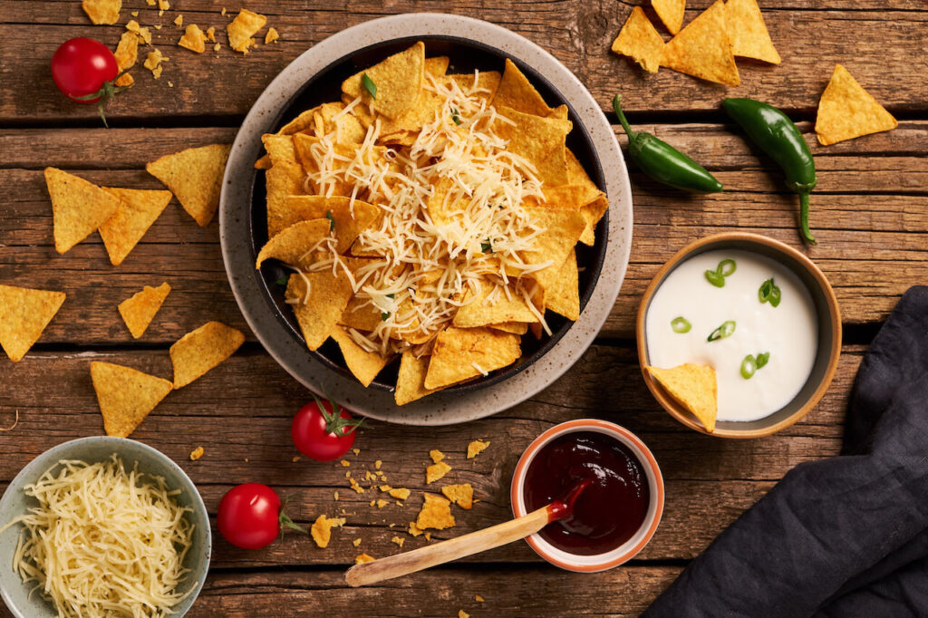 Tex-mex nachos