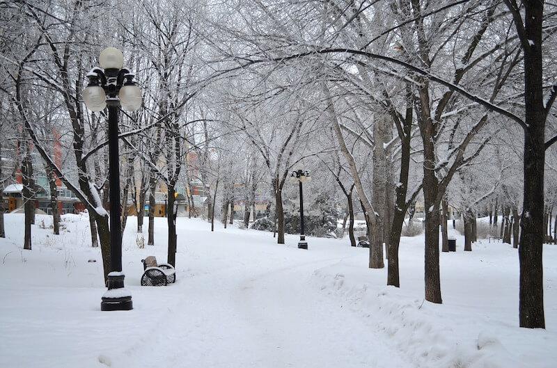 winter in winnipeg